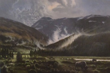 National Park, oil on canvas 40x60