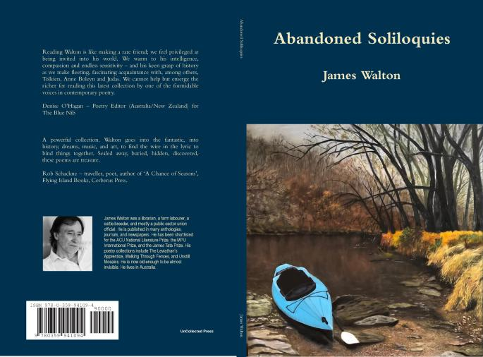 James Walton Abandoned Soliloquies Covers PICTURE