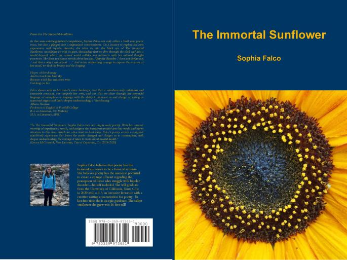The Immortal Sunflower by Sophia Falco